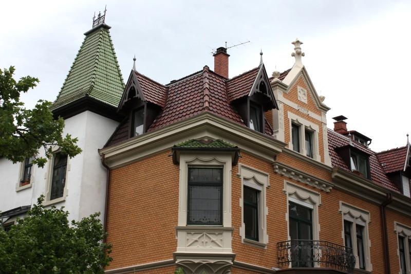 Wohngebäude Freiburg Tivolistraße