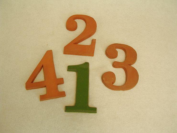 Hausnummern alt