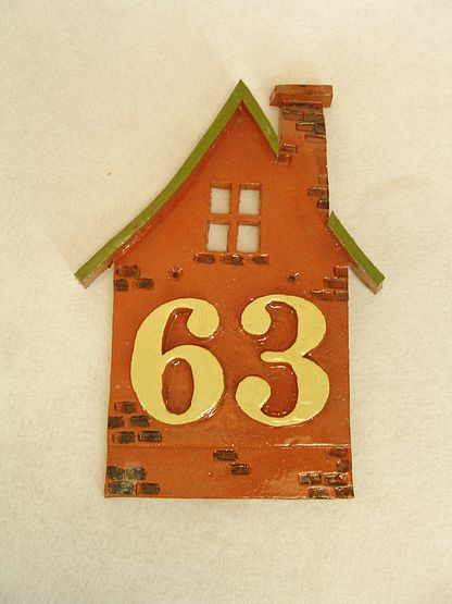 Hausnummern- tafel