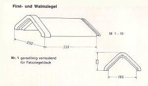 DWP Winnenden No 1 Firstziegel braun
